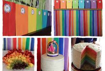Rainbow party / by Ginia Lucas