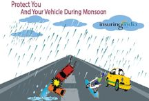 Mansoon Insurance / Protect You and Your Vehicle During Monsoon  With Insuringindia.com  Monsoon is the most vulnerable time for you And your car.