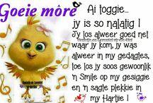 Afrikaans goeie more