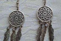 boho dream catcher jewelry