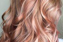 hair colour!