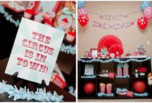 Circus Theme / Circus crafts, snacks, & decorating ideas