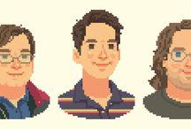 Pixel-Art Portraits