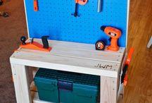 Childrens workbench