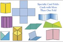 different folds for cards
