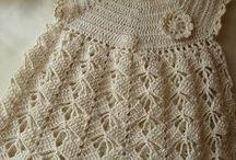 Vestidos Crochê Infantil