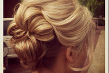 wedding updo's / by Floral Occasions by Kelli