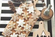 Karácsonyi süti diszités