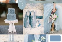 Silver Blue Wedding Theme, Ravens Ait Island