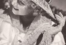 Vintage Hats, Bags & Accessories / Vintage Crochet and Knitting Patterns for Hats, Bags & Accessories