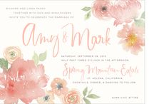 Wedding invitations and typography / by Kristin Wilcox