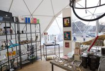 Geodesic Dome Decoration / by Vixie at Vixie's Prop Shop