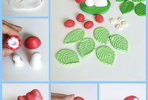 lesní plody, houby