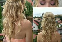 Hairstyles / hairstyles for different occasions