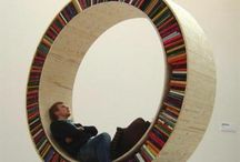 bookcases / by Ellie VanSant Forte