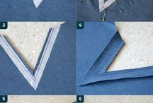 Элементы шитья