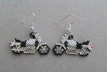 Beaded earrings - Objects
