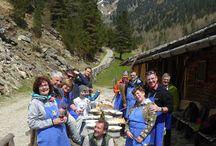 Geführte Wanderung mit Sepp mit Knödelkochkurs - escursione con Sepp con corso di cucina