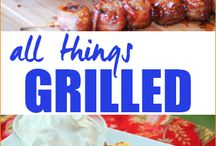 ON THE GRILL / by Cathy Grandstaff
