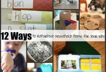 HOME ☆ Recycling and repurposing ideas