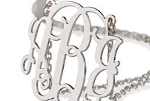 Mother's Day collection / Personalized gifts for Mother's Day - monogrammed necklaces, bracelets and more