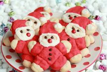 Christmas Recipes / DIY Christmas recipes. Cookies, red and green and everything peppermint.