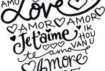 love, amor, amour, amore!