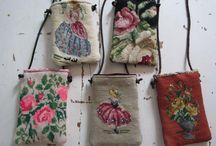 Embroidery-bolsos. Carteras