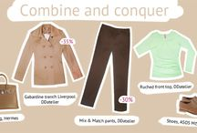Combine & Conquer / Our stylist has put together a series of looks to help you combine and conquer in the workplace or out with friends.
