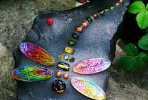 Rock crafts / Rock and beads