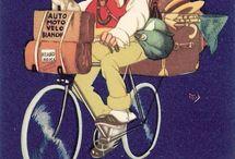 Bicycle vintage ads