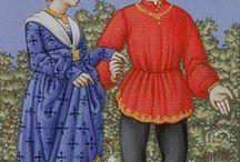 Средневековые миниатюры . Материал