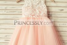 Junior Bridesmaid Dresses & Hair