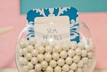 Decoratie diep in de zee party