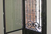 puertas rusticas herreria