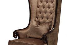 High back luxury chair