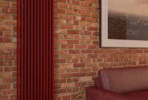 """Lady in Red / Kolorystyka odgrywa kluczową rolę w tworzeniu klimatu każdego wnętrza. Ty także możesz pokazać otoczeniu swoją indywidualność !!! Wybierz grzejnik LUX-GRZ dostępny u nas we wszystkich kolorach palety RAL (205 kolorów!!!) Poniżej prezentujemy skrawek aranżacji """"Lady in Red"""" projektu Larkviz z wykorzystaniem LUX-GRZ."""
