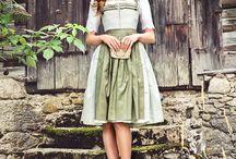 vestidos tiroleses
