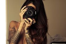 woman and tattoo!