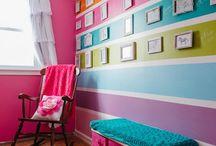 ohňostroj  barev v interiéru