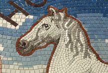 Horsforth Pebble and ceramic mosaic