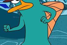 Perry The Platypus!!!!! / Agent hat, Light blue, Platypus fun!!!