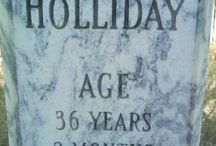 Glass tombstone