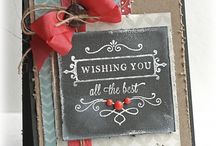 Cards ~ Chalkboard / by Wendy Dodds