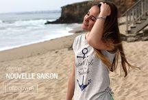 T-SHIRTS FEMME / Retrouvez les modèles féminins de la collection STERED. Des Tops féminins inspirés par la Bretagne.