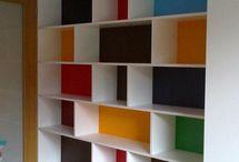 Stue shelves