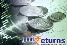 """Goodreturns - Money / """"Read all about personal finance, stock market, commodity investment and Insurance in this page- goodreturns.in """" / by Oneindia"""