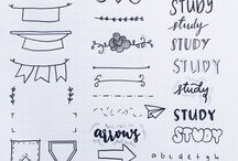 school notes design