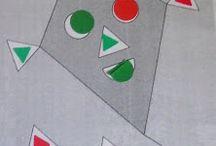 matemática / algarismos, quantidades, cores e formas / by Teresa Appleton