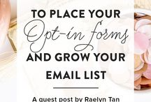 All About Email Marketing / Email marketing for bloggers. Grow your subscribers, create better newsletters and emails, connect with your audience, and increase your blogging income!